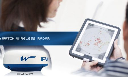radar Furuno DRS4W Wifi