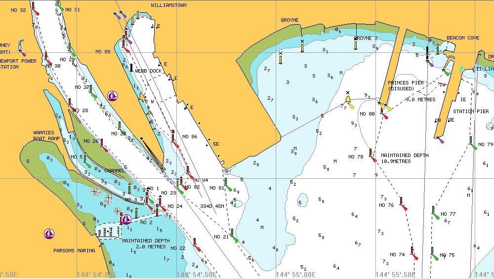 navionics cartografia marina